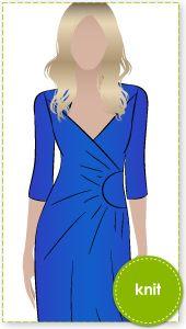 Trixi Knit Wrap Dress