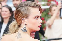 From Erin Wasson to Cara Delevingne: The Coolest Model Tattoos Ever | WhoWhatWear.com