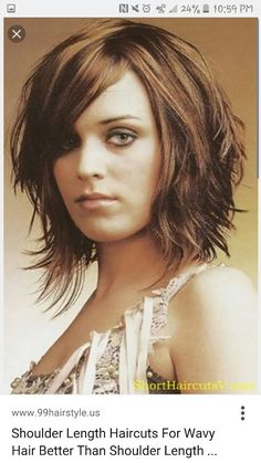 great short haircuts 12 stylish bob hairstyles for wavy hair wavy 1271 | e1271af8291de8a6f1ac083f79bb8a65 mid length hairstyles medium length haircuts
