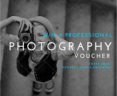 Win a professional photoshoot: http://www.mygreenworld.org/professional-photographer/
