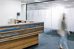 Image result for reception desk reclaim
