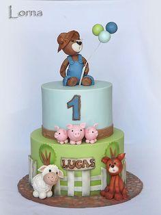 Teddy Bear & Friends by Lorna