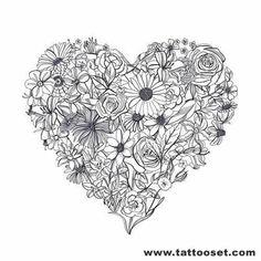 heart tattoo - Google Search