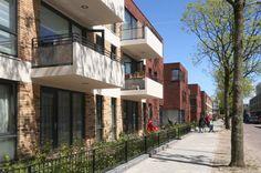 In het kader van vernieuwing van een naoorlogse Haagse wijk ontwierp Roel Bosch architecten 51 huurwoningen