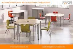 #LunesDeMobiliario #norvid #diseno #interiorismo #arquitectura #oficina #Muebles #Escolares #Escuela #Universidad #Modular #Configurable Les presentamos la mesa #Escolar #norvid. Son parte de un sistema completo para cualquier estilo de #aprendizaje y actividad #docente. Permite un mayor intercambio de #ideas y participación de los #estudiantes. Más info en www.norvid.com.mx