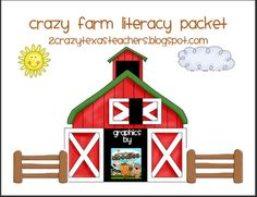 New Kindergarten blog! Great farm unit just posted with a freebie!