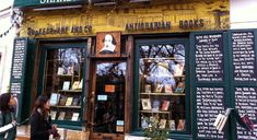 The history of the Shakespeare and Company Paris bookstore, the quirky and fascinating bookshop that also has beds, cats and a piano.