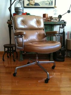 Vintage Herman Miller Eames Time Life chair - Fave chair of all time