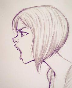 Я ещё не демон girl drawing sketches, boy sketch, human sketch, illustratio Girl Drawing Sketches, Illustration Art Drawing, Pencil Art Drawings, Drawing Faces, Cartoon Drawings, Cool Drawings, Boy Sketch, Drawing Girls, Girl Illustrations