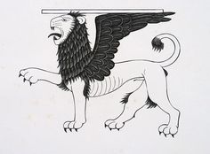 lion of st mark by Eric Gill http://www.ericgill.com/view_art.php?art_id=1080