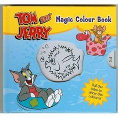 Tom and Jerry  Mini Magic Colour Story Book 2c3e2ca9addc