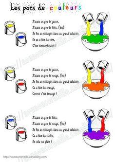 Imagier couleurs - Chez Nounou Corneille