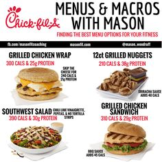 healthy options at chick fil a
