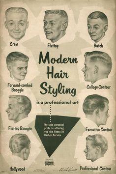 Modern Hair Styling for men