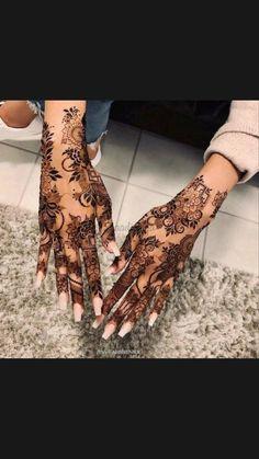 Pretty Henna Designs, Modern Henna Designs, Floral Henna Designs, Finger Henna Designs, Arabic Henna Designs, Latest Bridal Mehndi Designs, Art Designs, Latest Mehndi, Tattoo Designs