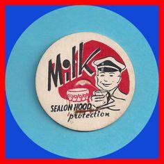 MILK CAP Vintage Hood Sealon Protection Milk  Gallon Bottle Unused by TheMaineCoonCat on Etsy