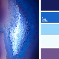 1000 images about colorful weddings on pinterest - Combination of blue and purple ...
