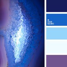 azul medianoche, azul muy oscuro y celeste, azul muy oscuro y violeta, azul oscuro y celeste, azul oscuro y violeta, azul turquí y azul oscuro, azul y azul oscuro, celeste y azul muy oscuro, celeste y azul oscuro, celeste y violeta, color azul navy, violeta y azul fuerte, violeta y celeste.