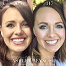 """Consultant Ashley Reynoso looks amazing, doesn't she? Notice how her crows feet (REDEFINE & Multi-Function Eye Cream) and those """"11's"""" (AMP MD System & REVERSE) have smoothed out beautifully. And let's not forget that Lash Boost helped give her those fabulous lashes!   As a busy mom of 3, she wanted products that delivered results without having to shell out hundreds at the dermatologist or med-spa.   These products aren't miracle creams, and need to be used consistently over time - but it's…"""