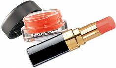 Morning-After Makeup Kit Essentials: MAC Tendertone Lip Balm in Purring_Chanel Rouge Coco Shine in Flirt