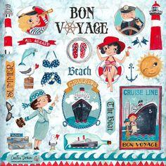 Children Illustration & Products by Caroline Bonne Muller at Cartita Design