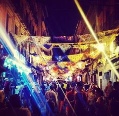 Nighttime Madrid   #madrid #party #festival
