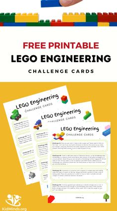 Engineers apply science, technology, engineering, art, and math (the whole STEAM) to find solutions to technical problems. Activities For 5 Year Olds, Steam Activities, Kids Learning Activities, Hands On Activities, Teaching Kids, Hands On Learning, Learning Through Play, Lego Engineering, Brain Gym