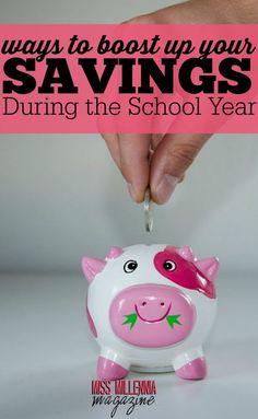 Let's face it, saving money while attending school is hard! During your college years, it is necessary to be creative to make and save money. Check out these ways to boost up your savings! Ways To Save Money, Money Tips, Money Saving Tips, How To Make Money, Financial Tips, Financial Planning, Starting School, Saving For College, College Years