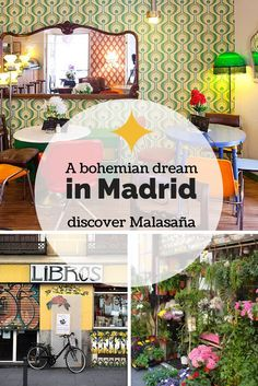 Discover Malasaña, a great neighborhood in Madrid. It's the place to go for vintage and great bars.