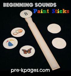 Beginning Sound Paint Sticks