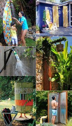 16 DIY Outdoor Showers