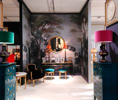 Stunning accent COLOURS seen at Moissonnier during Maison Et Objet 2016. Photo courtesy of Paul Robert Wright of Paris agency We Are Urbanstates.