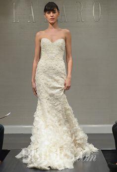 62 Best Lazaro Images Lazaro Wedding Dress Lazaro Bridal