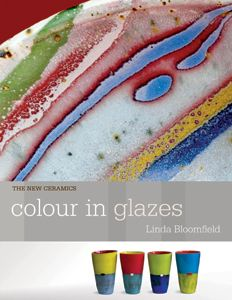 Did you know Potters Council members receive 20% discount on this book and more: Check it out : http://ceramicartsdaily.org/potters-council/product-discounts/ A complete guide to getting a fantastic spectrum of colorful glazes, Linda Bloomfield looks at a full range of materials and options for creating colors in glazes. This book is illustrated with finished work as well as an extensive collection of sample test tiles to illustrate the variety of colors possible from metal oxides in…