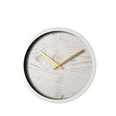 Degree White Wash Surface Clock 30cm