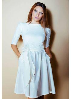 White Rachelle Dress