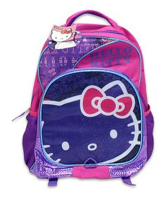 Blue & Purple Hello Kitty Backpack #zulily #zulilyfinds