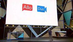 Allo x Duo: Δύο νέες εφαρμογές από την Google - #Android, #Apps, #Google, #GoogleAllo, #GoogleDuo, #IOS #Internet, #Software, #Videos More: http://on.hqm.gr/fk
