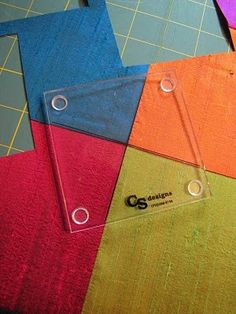 Lil Twister Tool Tutorial - the resulting quilt is fabulous..