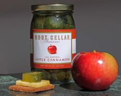 Apple cinnamon pickles, Root Cellar Preserves: As far as fall novelty items go, apple cinnamon pickles are a unique treat. Other flavors include bread and butter, sweet and spicy, and zesty and sweet.