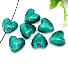 Promotional Events, Illusions, Glass Beads, Artisan, Objects, Teal, Shapes, Create, Silver