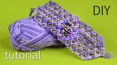 Very interesting bracelet and fun to wear! Here I used cotton yarn and seed beads. In the middle of the bracelet you can make your own firework with differen...