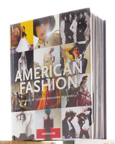 American Fashion Hardcover Book by Assouline Publishing at Neiman Marcus.