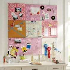 For office area, use custom cut foam board and cover it with vintage bed sheets?