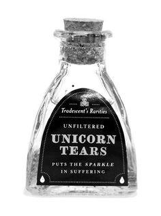 unicorn tears.