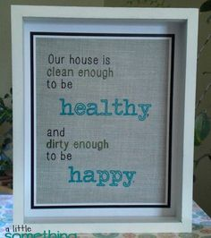 Cute happy home printable, I love this Dx