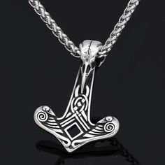 viking jewelry nordic raven necklace n-121 price: $14 25 & free shipping  #vikinglove