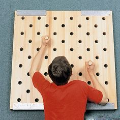 diy this for kids fort--Climb up this - TC Sports Square Peg Board