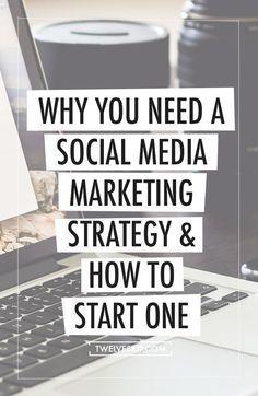 Why You Need A Social Media Marketing Strategy & How To Start One: http://www.twelveskip.com/marketing/social-media/1414/start-social-media-marketing-strategy?utm_content=buffera04dc&utm_medium=social&utm_source=pinterest.com&utm_campaign=buffer