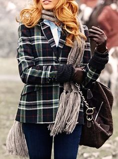 Fall Tartan Jacket, I need this in either the Baird, McNab or McNeil tartans. Or, maybe all three!
